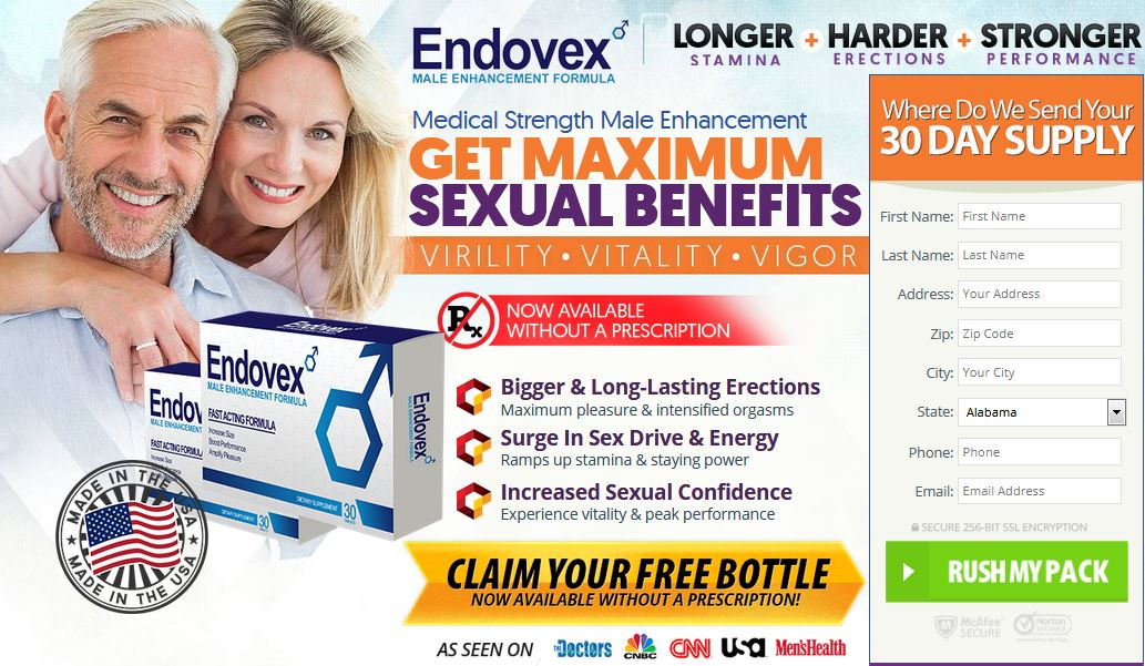 Order Endovex Male Enhancement