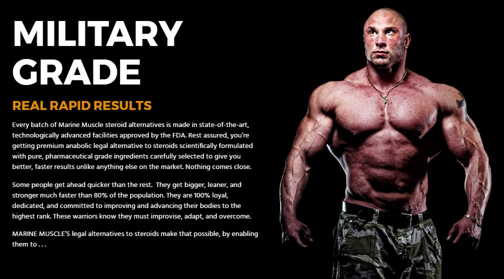 Marine Muscle - Supplement to Build Muscles and Shape Your
