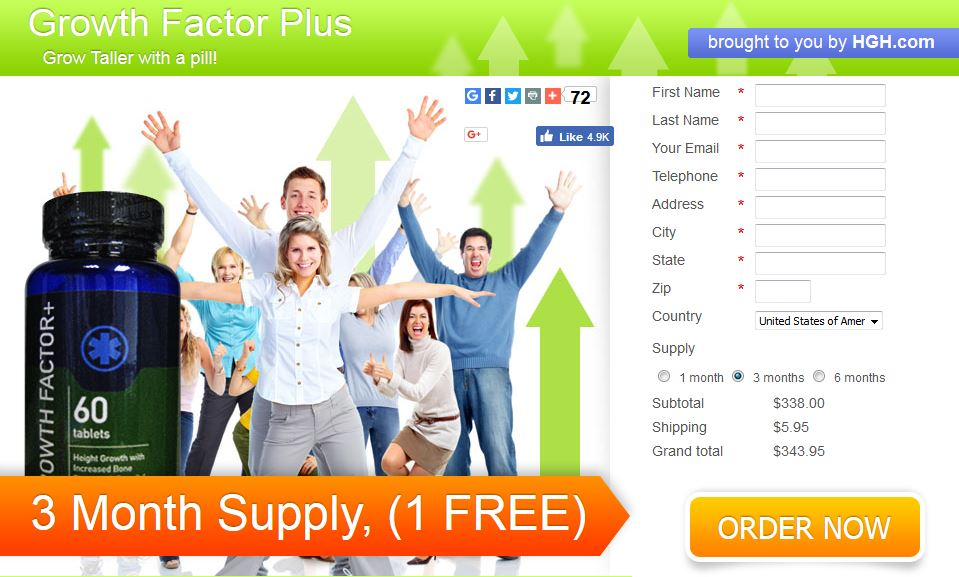 Order Growth Factor Plus