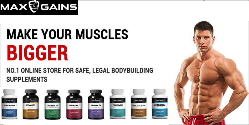 Max Gains Reviews – 100% Natural & Effective Steroids & Supplements!!