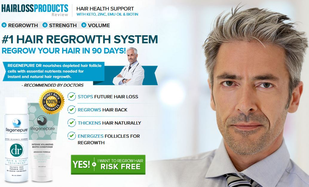 Regenepure DR Reviews – Hair Growth System To Prevent Hair Loss!